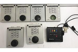 EVS Broadcast Equipment Control Units Lot Of Six