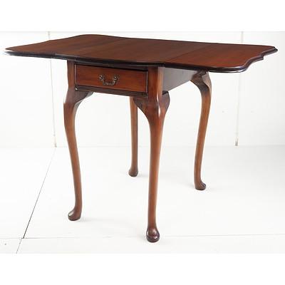 Vintage New Zealand Rimu Wood Dropside Table