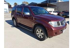 10/2006 Nissan Pathfinder Ti (4x4) R51 4d Wagon Maroon 4.0L