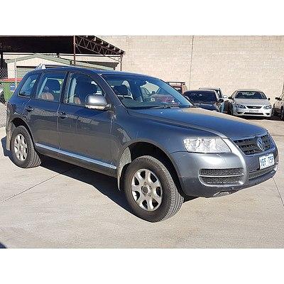 9/2005 Volkswagen Touareg V6 Luxury 7L 4d Wagon Grey 3.2L