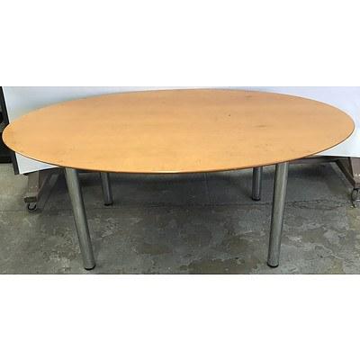 Veneer Oval Office Table