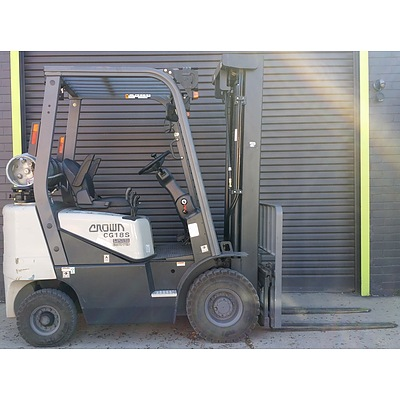 2006 Crown CG18S-2 Engine Powered Forklift