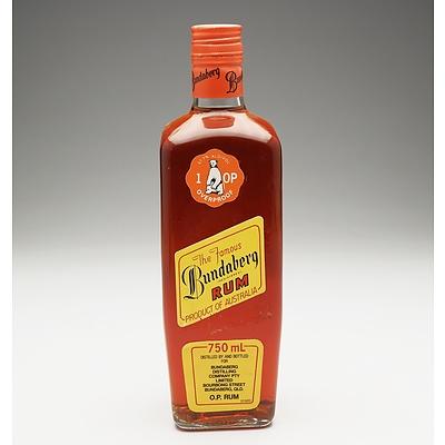 Bundaberg High Strength Overproof Rum 1980's 750ml