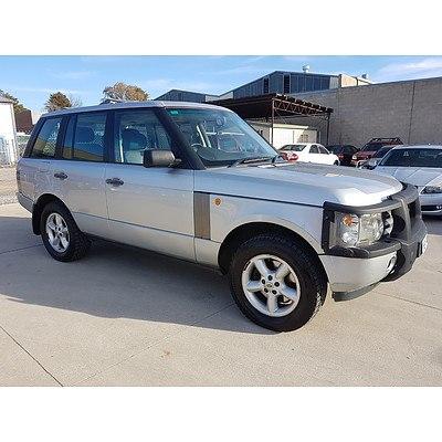 6/2004 Range Rover Range Rover SE  4d Wagon Silver 3.0L