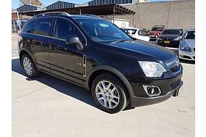 12/2012 Holden Captiva 5 (4x4) CG SERIES II 4d Wagon Black 2.2L