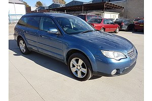 12/2007 Subaru Outback 2.5i Luxury Edition MY08 4d Wagon Blue 2.5L