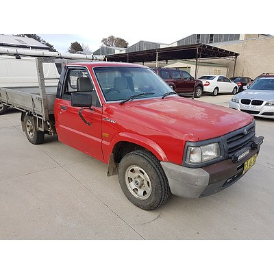 9/1996 Mazda B2500 Bravo  C/chas Red 2.5L