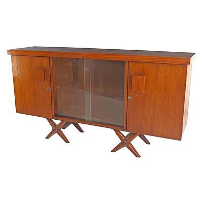 Sri Lankan Modernist Sideboard, Terry Jonklaas Commission Circa 1948