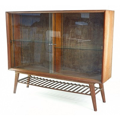 Sri Lankan Modernist Very Large Display Cabinet, Terry Jonklaas Commission Circa 1948
