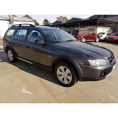 9/2006 Holden Adventra SX6 VZ MY06 4d Wagon Grey 3.6L