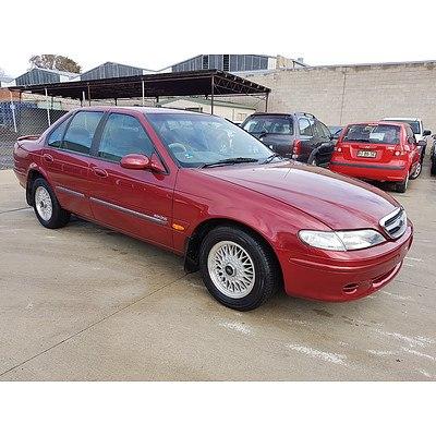 10/1996 Ford Fairmont  EL 4d Sedan Red 4.0L