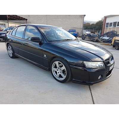 10/2004 Holden Commodore SV6 VZ 4d Sedan Black 3.6L