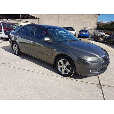 4/2007 Mazda Mazda6 Diesel GG MY07 5d Hatchback Grey 2.0L