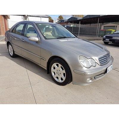 8/2005 Mercedes-Benz C180 Kompressor Elegance W203 UPGRADE 4d Sedan Silver 1.8L