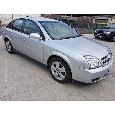 11/2005 Holden Vectra CD ZC MY05 UPGRADE 4d Sedan Silver 2.2L