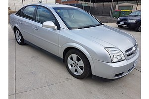 11/2005 Holden Vectra CD ZC MY05 UPGRADE 4d Sedan Silver 2.2L