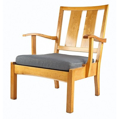 Fred WARD (1900-1990) ANU University House Visitor's Chair, Designed and Fabricated Circa 1950