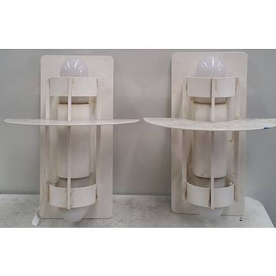 Wall Mount Feature Lights - Lot of Two