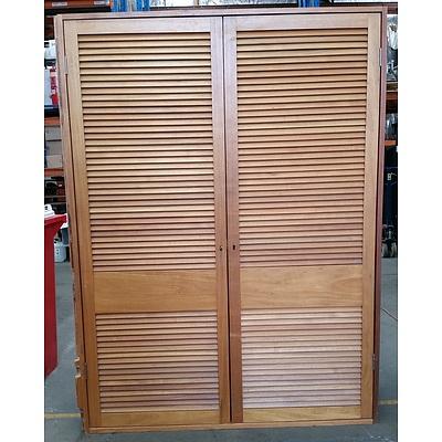 Two Door Storage Cabinet