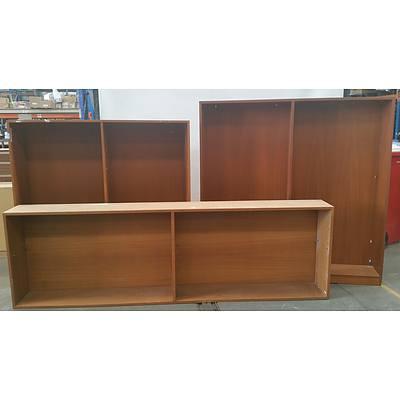 Lot of Three Bookshelves