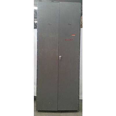 Brownbuilt Metal Storage Cabinet