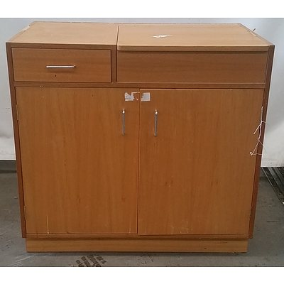 Credenza With Basin