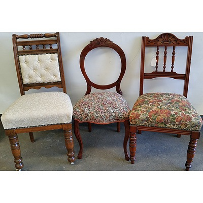 Vintage Side Chairs - Lot Of Three
