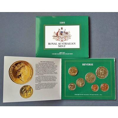 Australia: Uncirculated Mint Set 1985