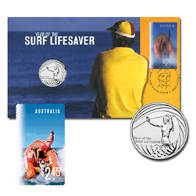 Australia 2004 20C Coin In FDC Stamped Envelope