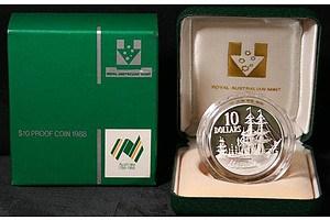 Australia: Proof $10 1988 Bicentennial