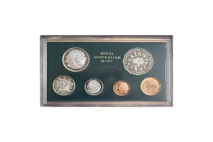 Australia: 1982 Proof Set