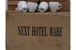 Next Hotel Ware Commercial 70ml Demitase Cups  - Lot of 114 - Brand New