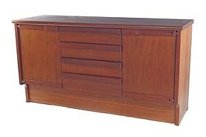 Quality Vintage Catt Furniture WA Jarrah and Hardwood Sideboard