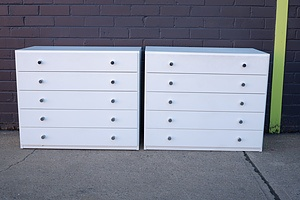 Pair of Contemporary Chest of Drawers