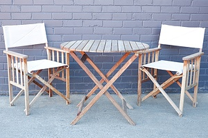S2Dio Two-Person Outdoor Table Setting