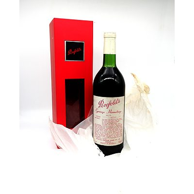 Penfolds Vintage 1971 Grange Hermitage Bin 95 738mL in Display Box