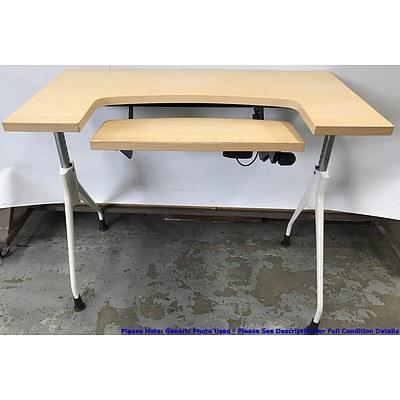 Veneer Computer Desk