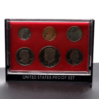 1980 United States Six Proof Coin Set