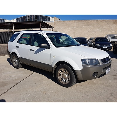 2/2007 Ford Territory TX SY 4d Wagon White 4.0L