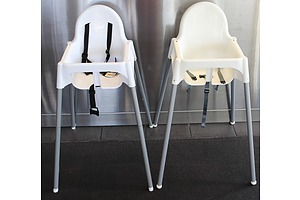Infant High Chairs  - Lot of Two