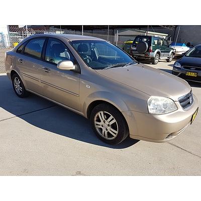 3/2006 Holden Viva  JF 4d Sedan Brown 1.8L