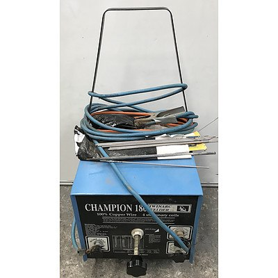Champion 180 Twin Arc Welder