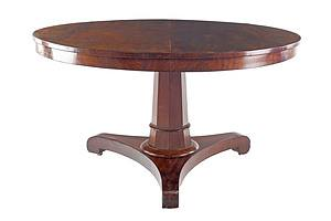 William IV Flame Mahogany Breakfast Table Circa 1835