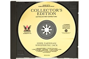 MADE WITH PURE KALGOORLIE GOLD - Collector's Edition John Farnham Whispering Jack CD