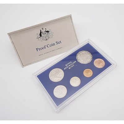 1981 Royal Australian Mint Six Coin  Proof Set