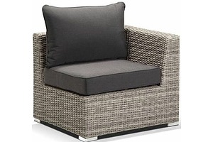 Royalle Outdoors Maldives End Outdoor Modular Chairs - Lot of Two - Brand New - $1398.00