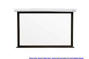 ScreenTechnics Motorized Mountable Projector Screen