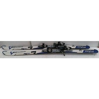 Fischer VC200 158cm Skis