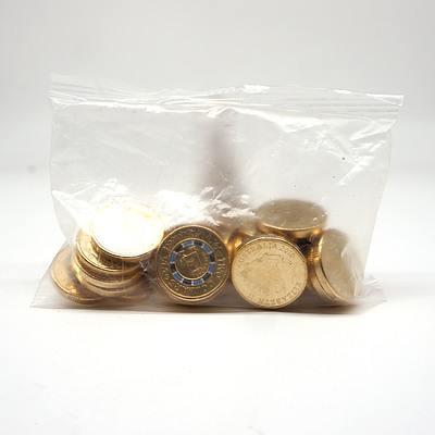 Sealed Packet of Twenty Five 2019 $2 Mr Squiggle Coins