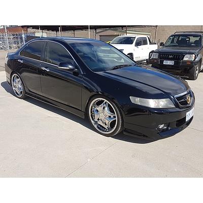 12/2003 Honda Accord EURO Luxury  4d Sedan Black 2.4L